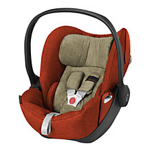 Buy Cybex Cloud Q Group 0+ Baby Car Seat, Autumn Gold Lux Fabric Online at johnlewis.com