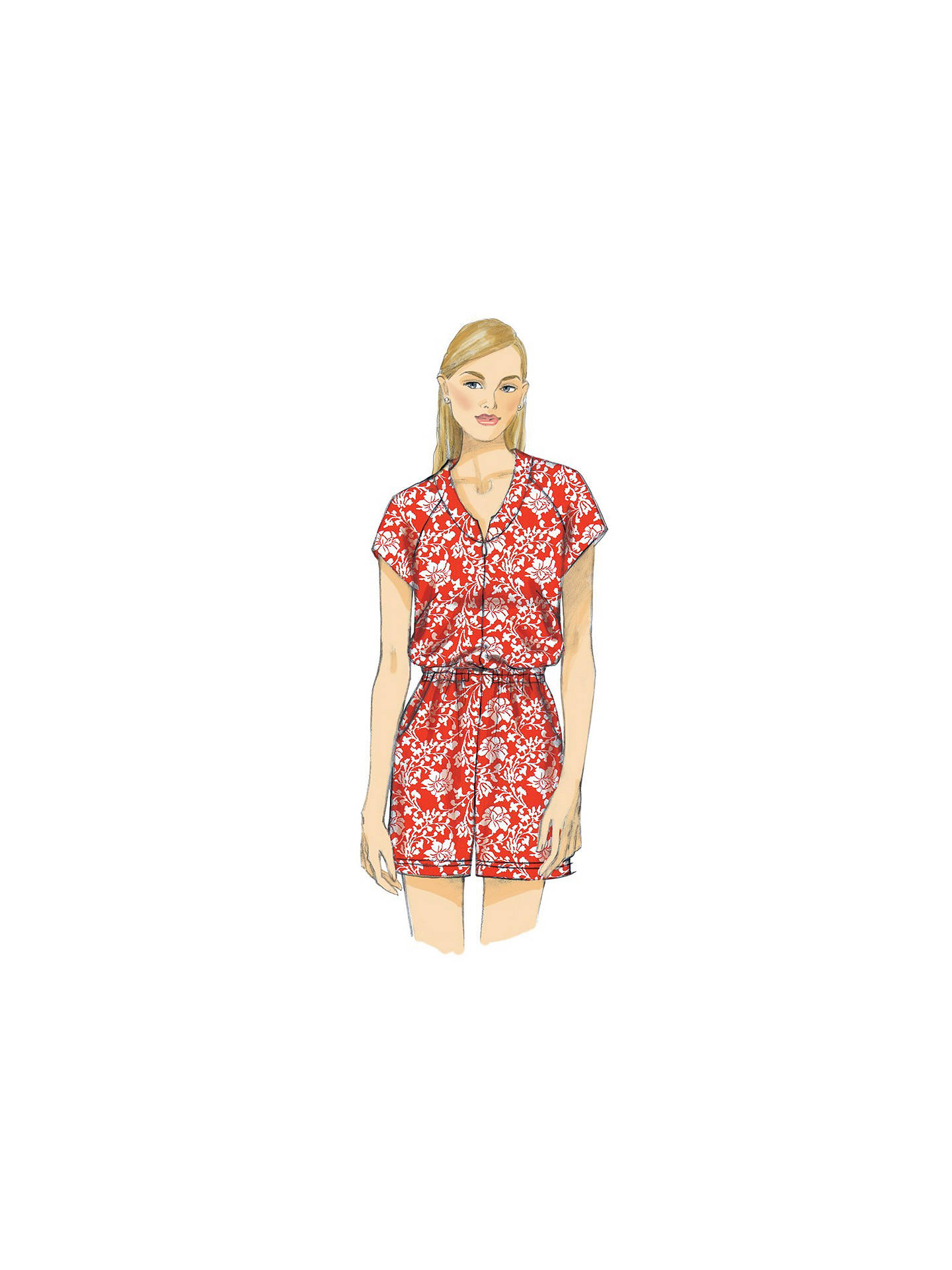 Vogue Women\'s Jumpsuit and Playsuit Sewing Pattern, 1483 at John ...