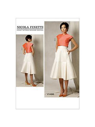 Skirts Sewing Patterns John Lewis Partners
