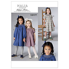 Buy Vogue Children's Dresses Sewing Pattern, 9177 Online at johnlewis.com
