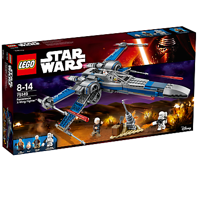 Image of LEGO Star Wars 75149 Resistance X-Wing Fighter