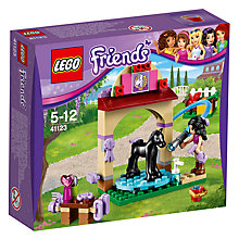 Buy LEGO Friends 41123 Foal Washing Station Online at johnlewis.com