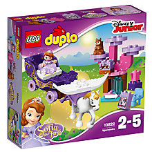 Buy LEGO Duplo 10822 Sofia's Magical Carriage Online at johnlewis.com