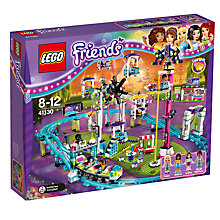 Buy LEGO Friends 41130 Roller Coaster Online at johnlewis.com