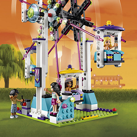 Buy LEGO Friends 41130 Roller Coaster | John Lewis
