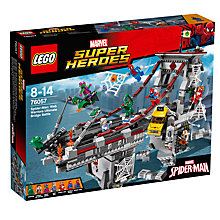 Buy LEGO Super Heroes Ultimate Bridge Battle Online at johnlewis.com