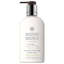 Buy Molton Brown Dewy Lily of the Valley & Star Anise Body Lotion, 300ml Online at johnlewis.com