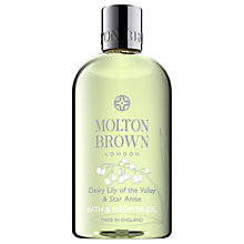 Buy Molton Brown Dewy Lily of the Valley & Star Anise Bath & Shower Gel, 300ml Online at johnlewis.com