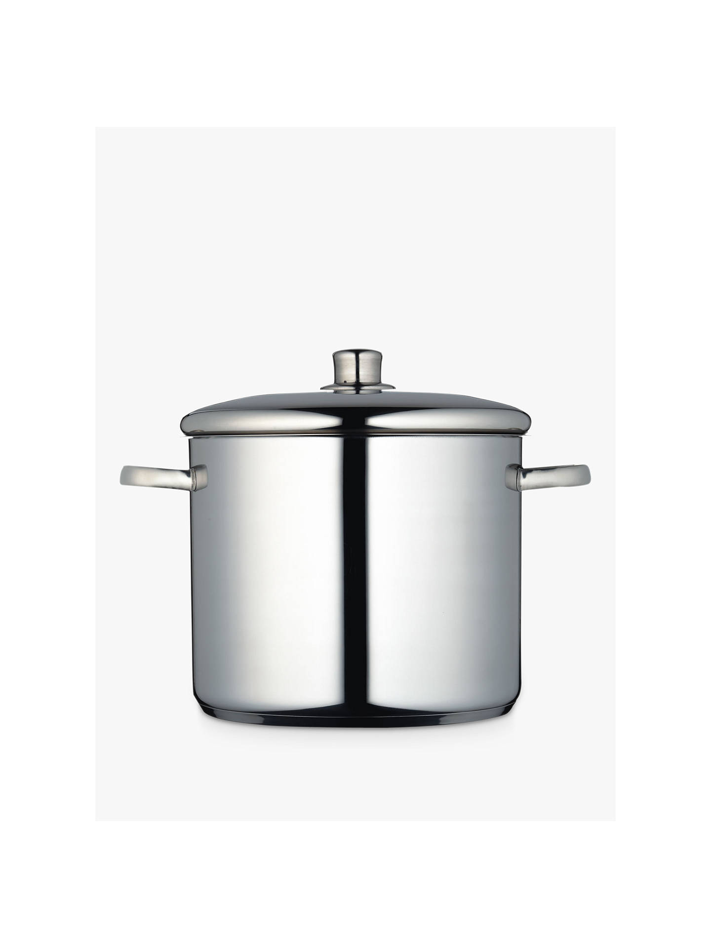 BuyMasterclass Stainless Steel Stockpot, 11L, 26cm Online at johnlewis.com