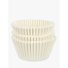Buy John Lewis Muffin Cases, White, Pack of 75 Online at johnlewis.com