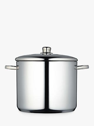 Masterclass Stainless Steel Stockpot, 14L