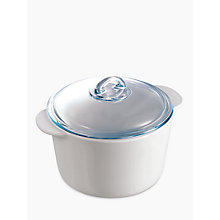 Buy Pyrex Flame 3L Casserole Dish Online at johnlewis.com