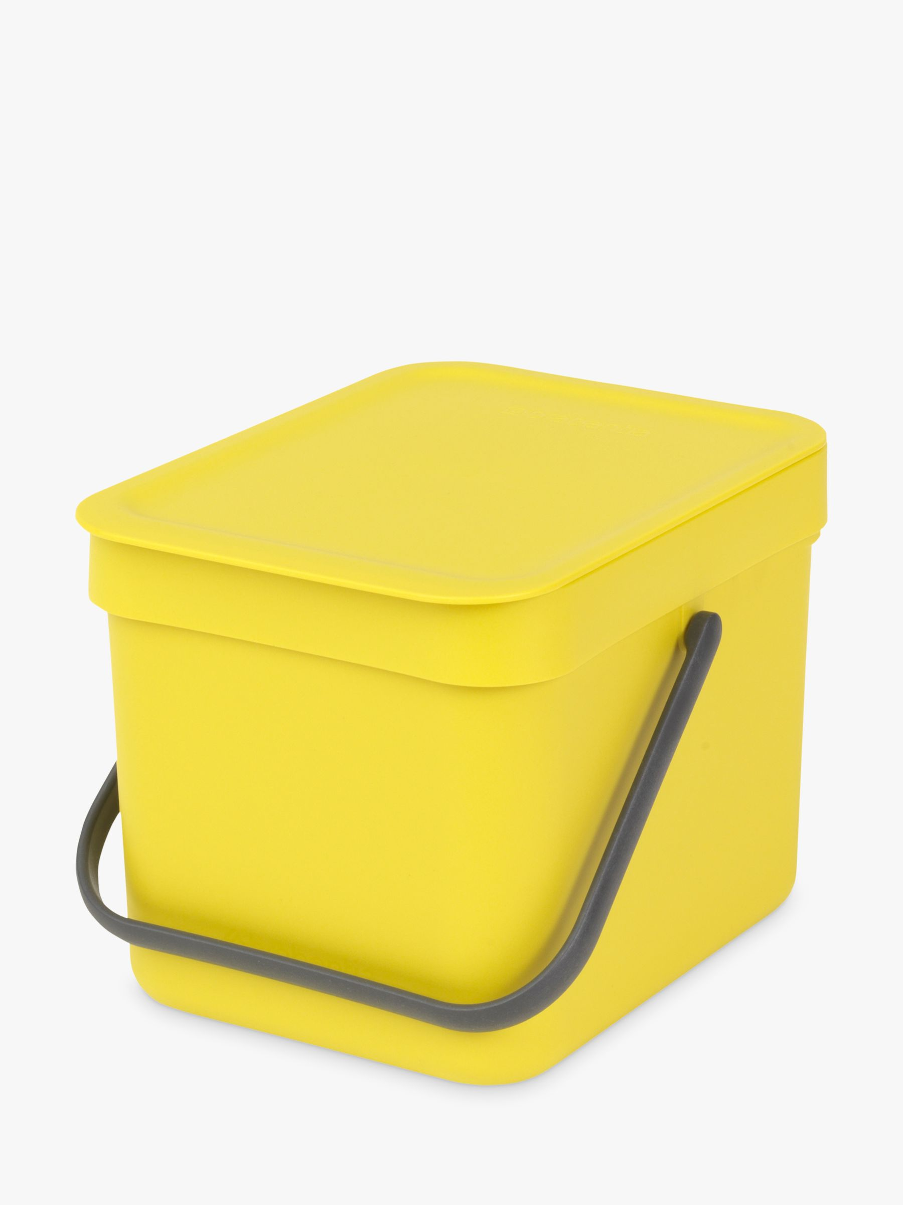 Brabantia Brabantia Sort & Go Built-In Bin, Yellow, 6L
