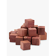 Buy John Lewis Cedar Nugget Moth Proofers, Pack of 24 Online at johnlewis.com