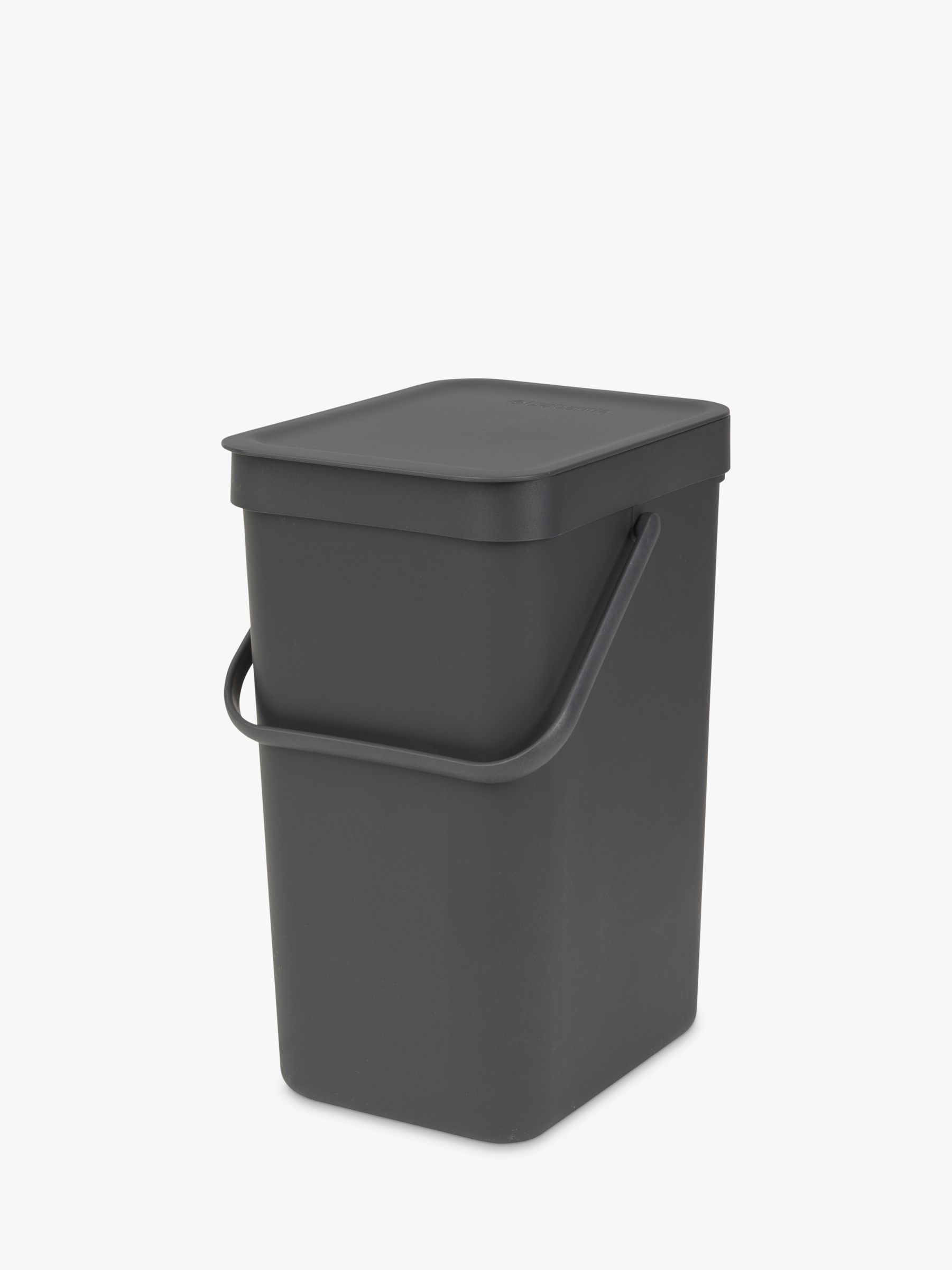 Brabantia Brabantia Sort & Go Built-In Bin, Grey, 12L