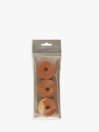 John Lewis & Partners Cedar Ring Moth Proofers, Pack of 6