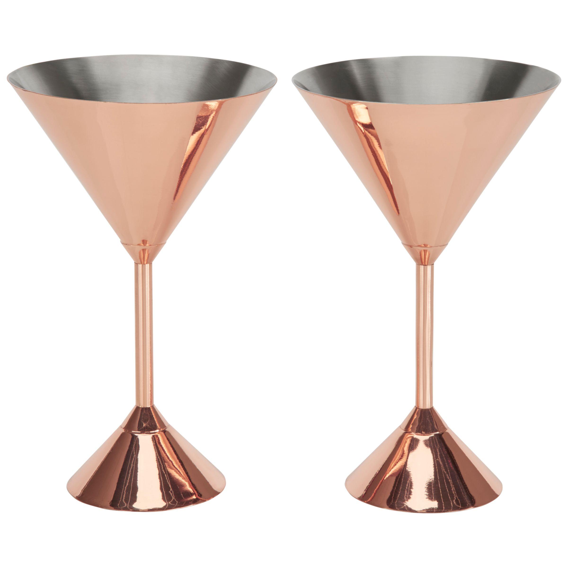 Tom Dixon Tom Dixon Plum Martini Glasses, Set of 2