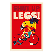 Buy Spencer Wilson - Shut Up Legs Unframed Print, 40 x 30cm Online at johnlewis.com