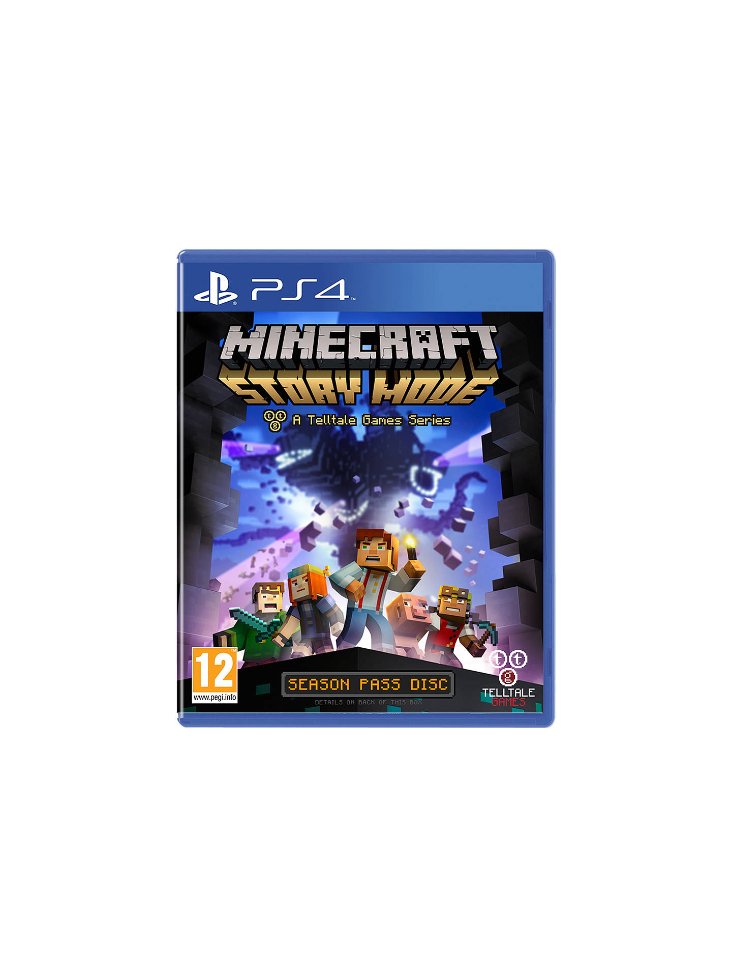Minecraft: Story Mode, PS4 at John Lewis & Partners