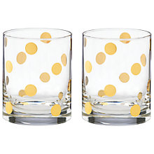 Buy kate spade new york Pearl Place Tumbler, Set of 2 Online at johnlewis.com