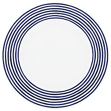 Buy kate spade new york Charlotte Street East 29cm Dinner Plate, White / Blue Online at johnlewis.com