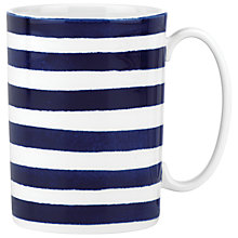 Buy kate spade new york Charlotte Street North Mug, White / Blue Online at johnlewis.com