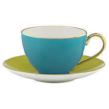 Buy kate spade new york Greenwich Grove Tea Cup and Saucer Online at johnlewis.com