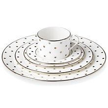 Buy kate spade new york Larabee Road Platinum Bone China Place Setting, 5 Pieces Online at johnlewis.com