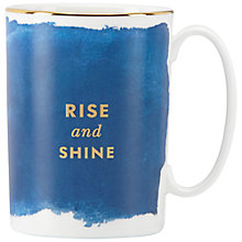 Buy kate spade new york 'Rise And Shine' Mug Online at johnlewis.com