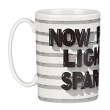 Buy kate spade new york 'Now Playing; Light The Sparklers' Mug Online at johnlewis.com