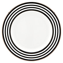 Buy kate spade new york Parker Place Platinum Rim Bone China 20cm Salad Plate Online at johnlewis.com