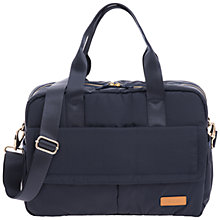 Buy Jem + Bea Marlow Duffle Changing Bag, Navy Online at johnlewis.com