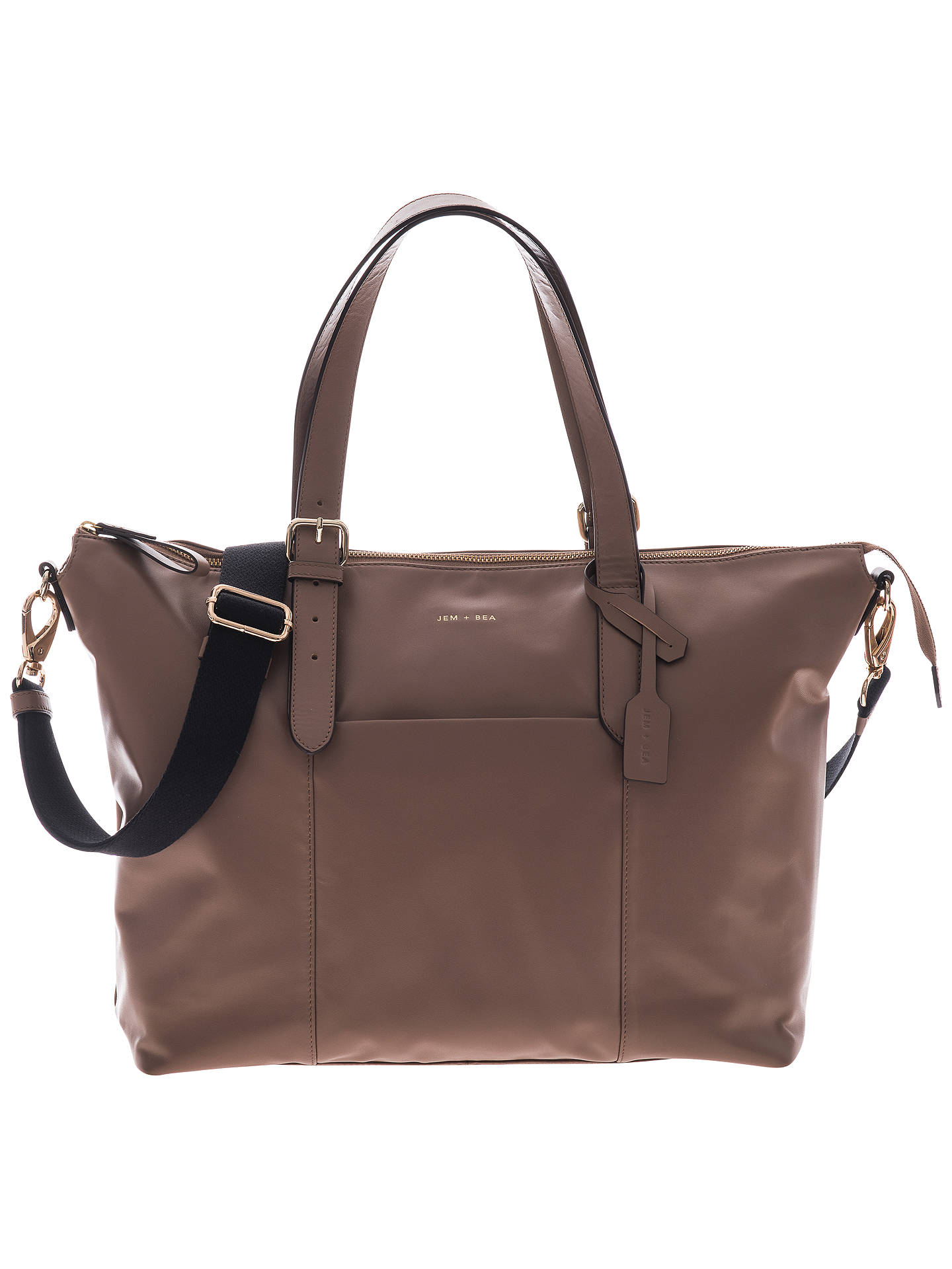 BuyJEM + BEA Beatrice Tote Changing Bag, Taupe Online at johnlewis.com