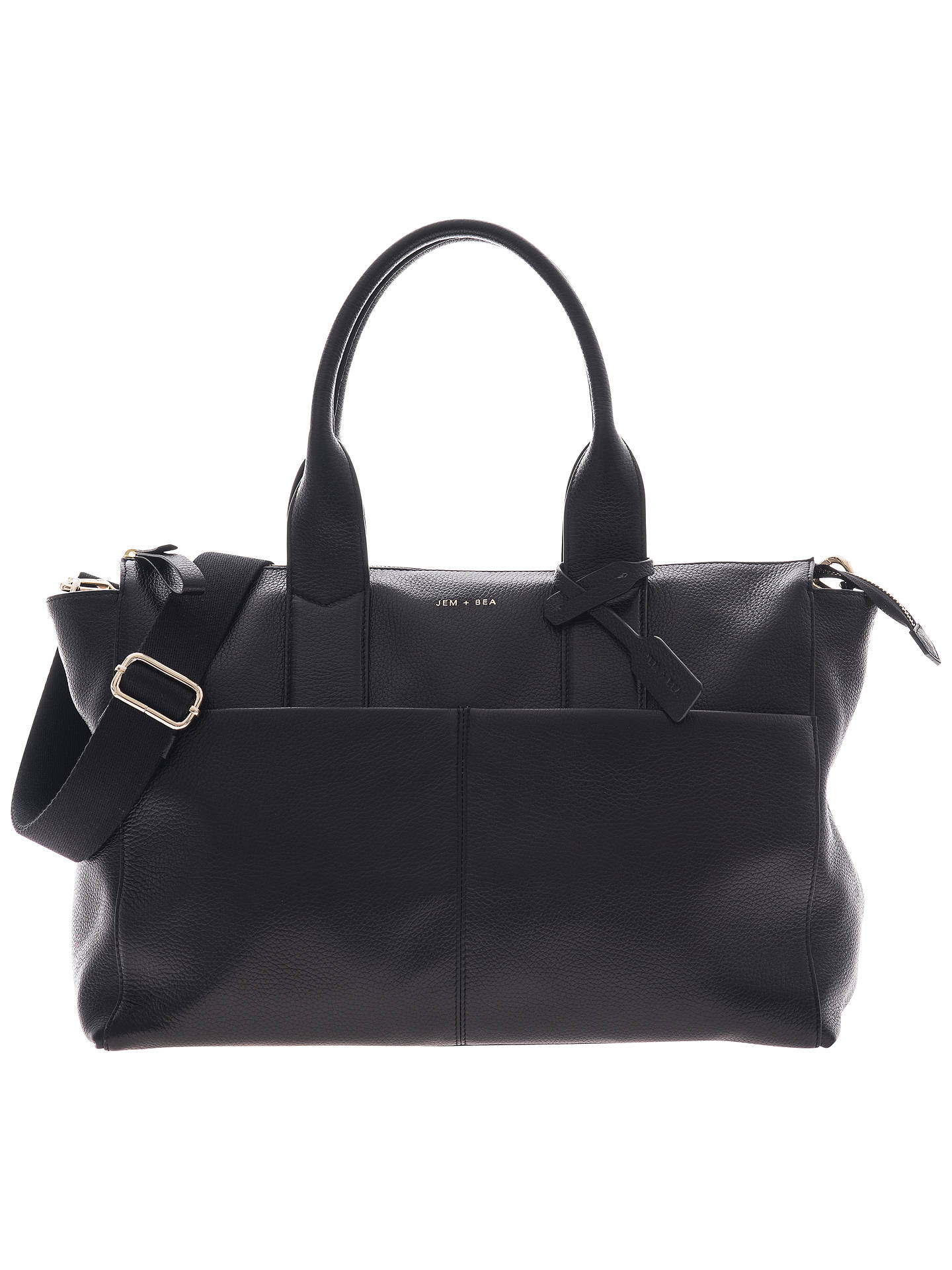 Jem Bea Jemima Tote Changing Bag Black
