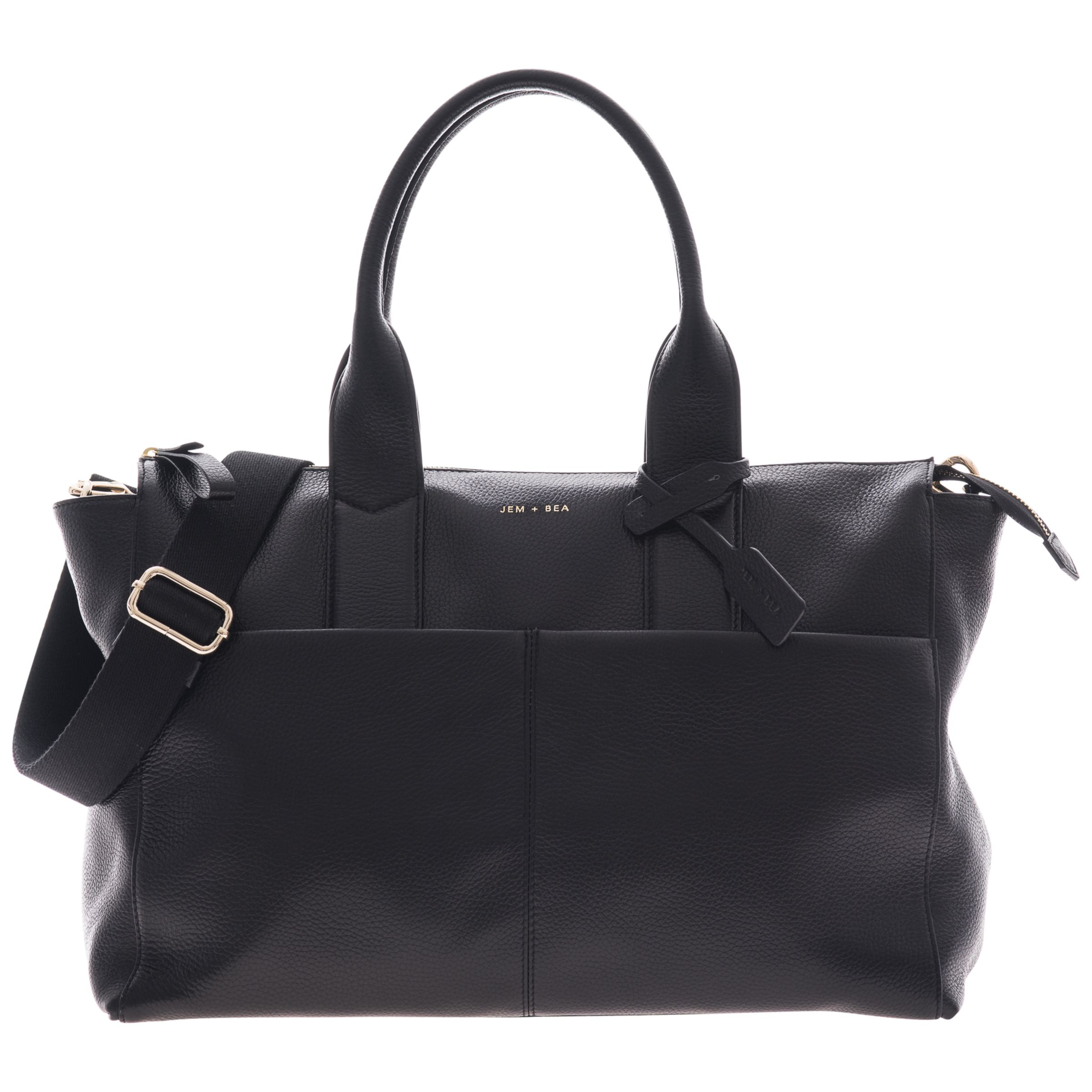 Jem + Bea JEM + BEA Jemima Tote Changing Bag, Black