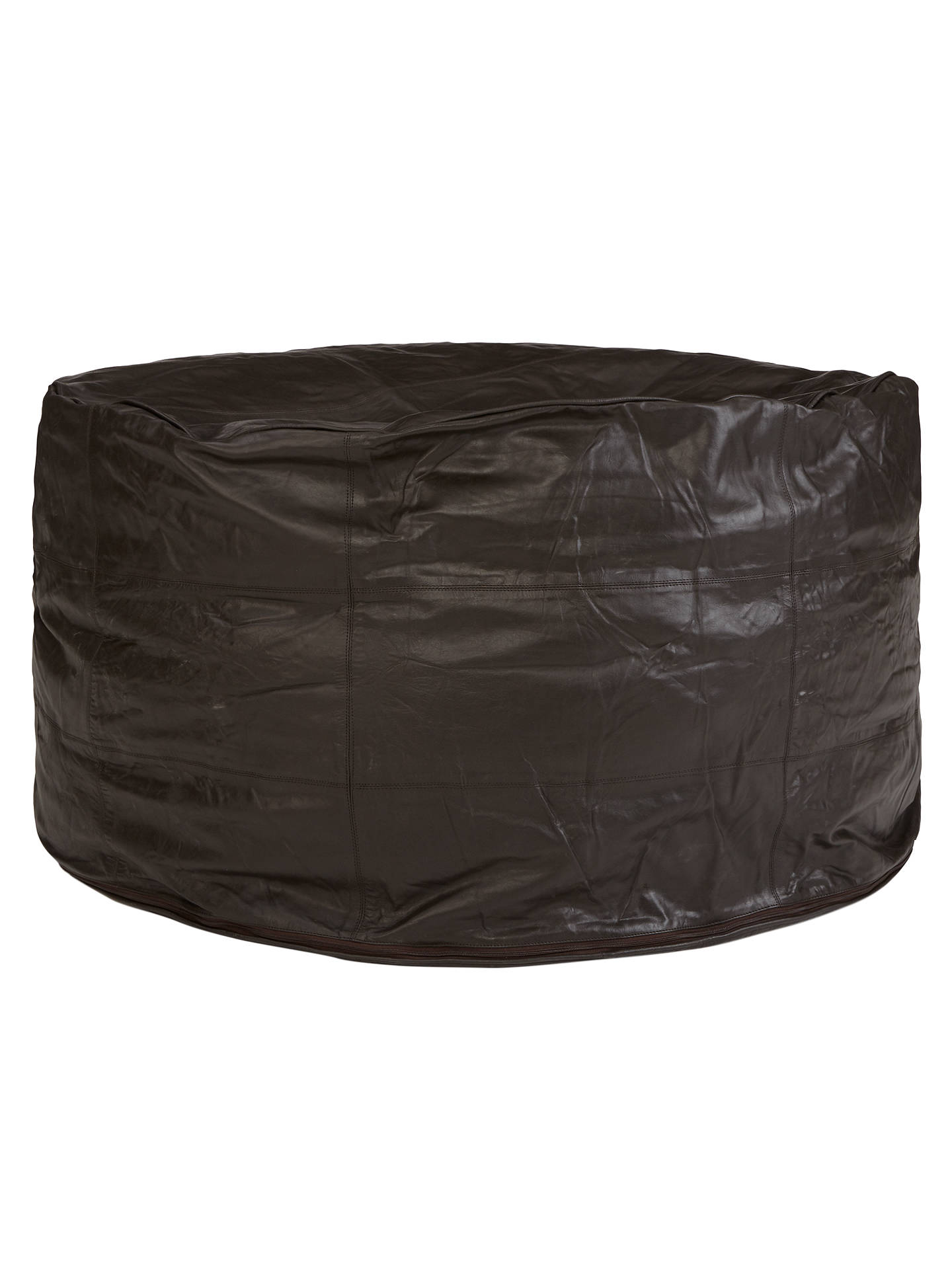 John Lewis Leather Sprawl Bean Bag At John Lewis Amp Partners