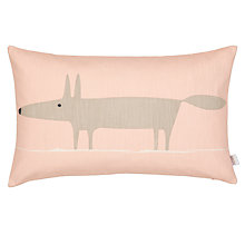 Buy Scion Mr Fox Cushion, Blush Online at johnlewis.com