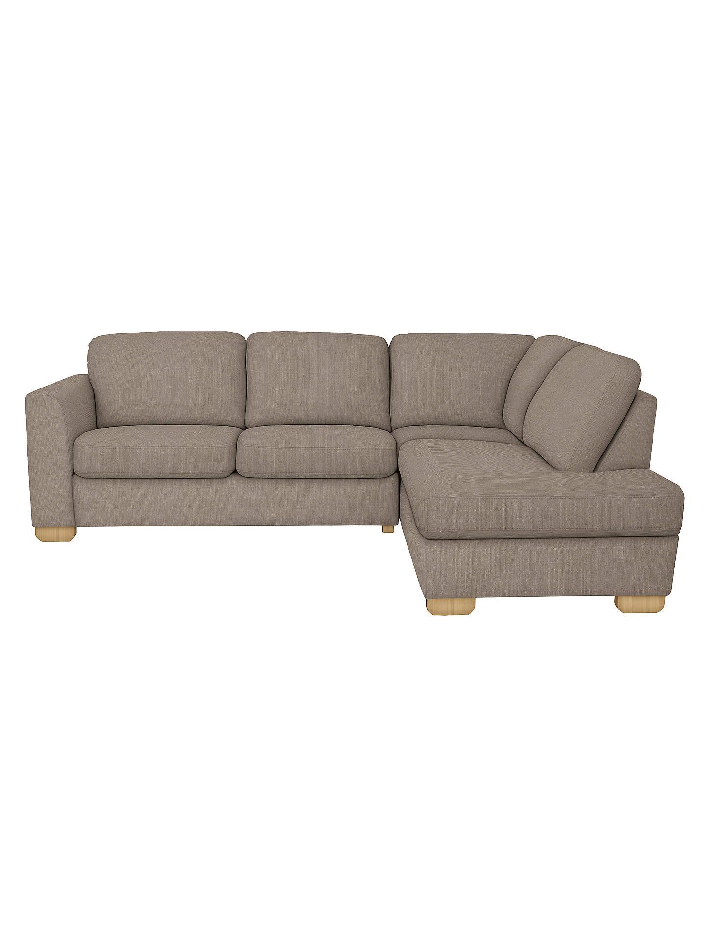 John Lewis Cooper RHF Corner Chaise Sofa, Bala Charcoal At