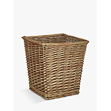 Buy John Lewis Croft Collection Willow Waste Paper Bin Online at johnlewis.com