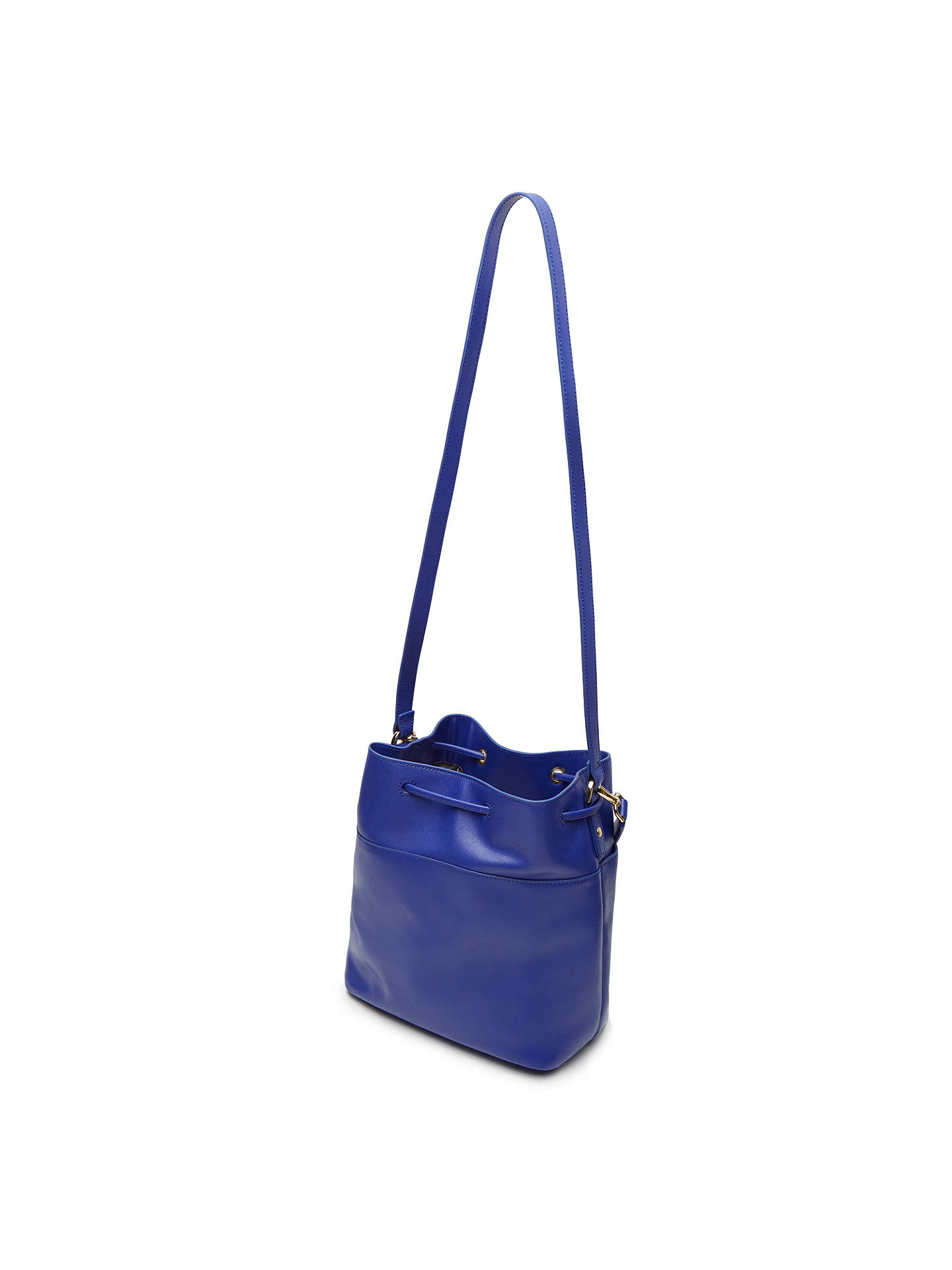 f270e9a4ceab8 Ted Baker Adrene Mini Bucket Leather Across Body Bag at John Lewis ...