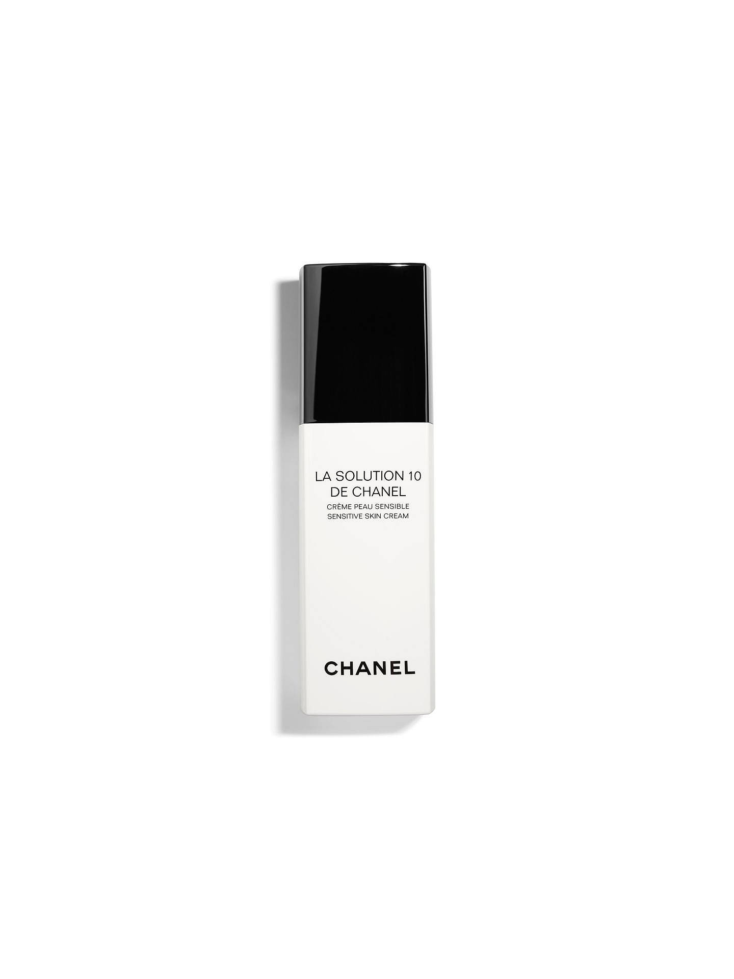 BuyCHANEL LA SOLUTION 10 DE CHANEL Sensitive Skin Cream Pump Bottle Online at johnlewis.com
