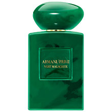 Buy Giorgio Armani / Privé Vert Malachite Eau de Parfum, 100ml Online at johnlewis.com