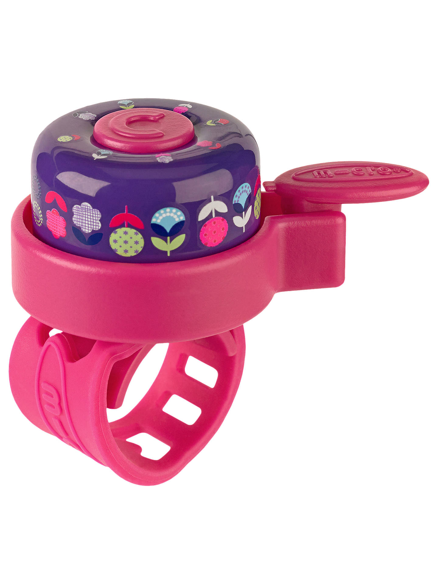 BuyMicro Scooter Floral Bell, Pink/Purple Online at johnlewis.com