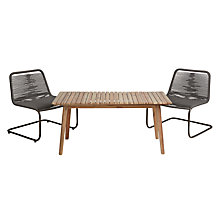 Buy John Lewis Matrix Coffee Table & Easy Chairs (x2), FSC-certified (Acacia) Online at johnlewis.com