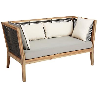 John Lewis Matrix 2-Seater Garden Sofa, FSC-certified (Acacia)