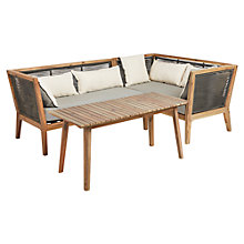 Buy John Lewis Matrix 2-Seater Sofa, One Arm Sofa & Coffee Table, FSC-certified (Acacia) Online at johnlewis.com