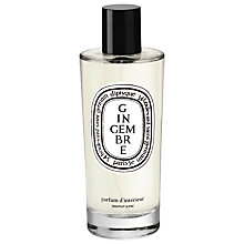 Buy Diptyque Gingembre Interior Scent, 150ml Online at johnlewis.com