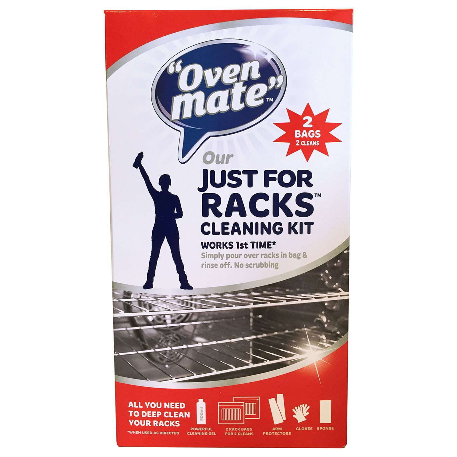 Dustpic Oven Mate Just for Racks Oven Rack Cleaner, 500ml