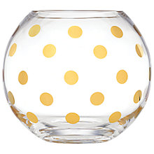 Buy kate spade new york Pearl Place Rose Bowl Online at johnlewis.com