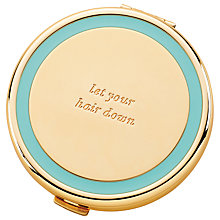 Buy kate spade new york Holly Drive Compact Mirror Online at johnlewis.com
